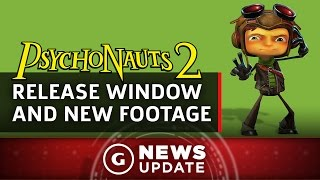Psychonauts 2 Release Window And New Footage Revealed - GS News Update