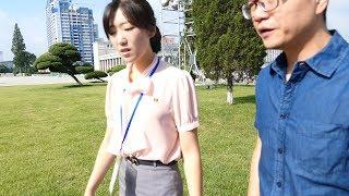 """朝鲜世界08集:平壤的""""金日成广场"""",这里正在进行规模10万人的朝鲜国庆节目排练12季:朝鲜世界"""
