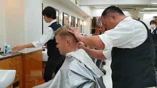 Matt Damon Goes To Japan For A Haircut