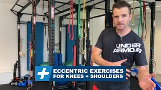 Eccentric exercises for knee and shoulders | Tim Keeley | Physio REHAB