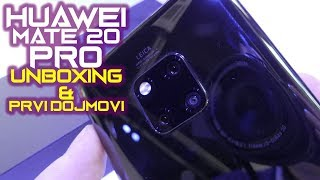 Huawei Mate 20 Pro - unboxing and first impressions (16.10.2018)