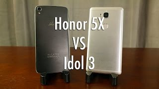 Honor 5X vs Alcatel OneTouch Idol 3: best bang for buck smartphone?