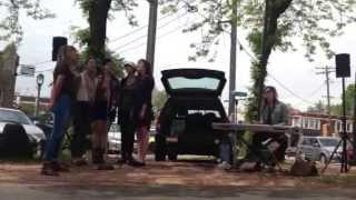 "East Side Green Market - Anonymous Choir ""I love you in the morning"" (Leonard Cohen)"