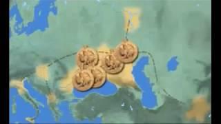 Пути миграции булгар