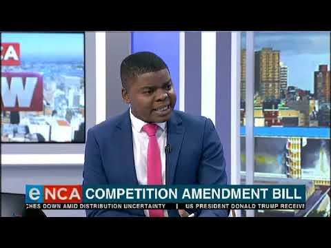 Competition amendment bill
