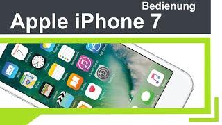 Apple iPhone 7 - Bedienung