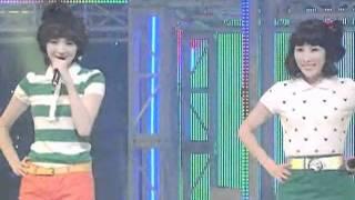 Davichi - Love & War (다비치-사랑과전쟁) @SBS Inkigayo 인기가요 20080720