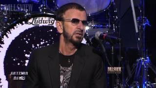 RINGO STARR SAYS HIS SONS AREN'T INTERESTED IN BEATLES KIDS BAND