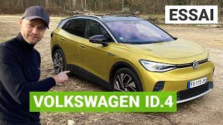 Essai Volkswagen ID4 : le SUV électrique des familles ?