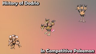 How GOOD was Dodrio ACTUALLY? - History of Dodrio in Competitive Pokemon (Gens 1-7)