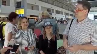 Первые туристы огранизовано прибыли в Турцию в июле 2016