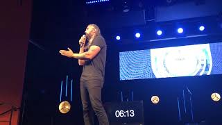 Nate Parrish of Kutless Young Saved And Authentic at Q Commons