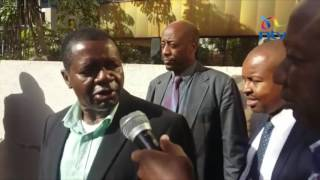 Oswago arrested over 'Chickengate' - VIDEO