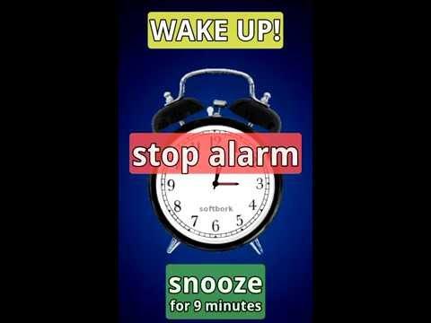 Video of Simplest Alarm-clock Ever