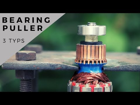 Top 3 Different Types Of Bearing Puller || Make A Armature Bearing Puller