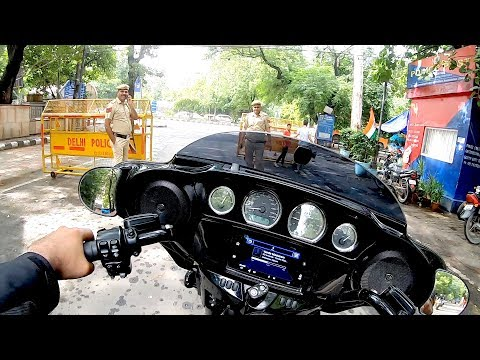Cops stopped my HARLEY (deleted video)