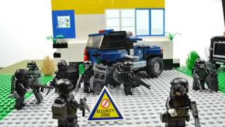 lego  swat  , Lego S.W.A.T lego  swat ( the bank robbery)