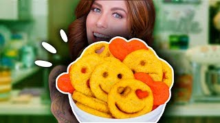 PAPITAS SONRIENTES DE EMOJI 🙂 (SMILEY FRIES) | DACOSTA'S BAKERY