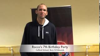 Rocco's 7th Birthday Party