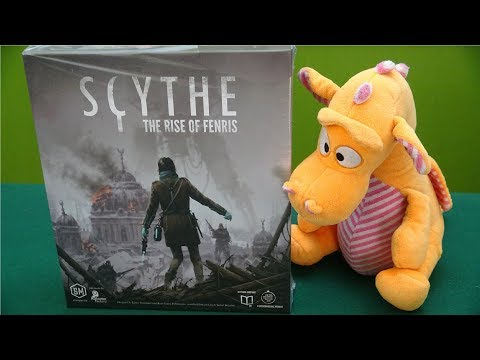 Scythe: Rise of Fenris - Unboxing (First part SpoilerFree, then SPOILERS)