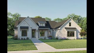 COUNTRY HOUSE PLAN 041-00220 WITH INTERIOR