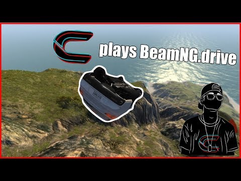 BeamNG.drive! #1 | Dropping Cars Off A Cliff!