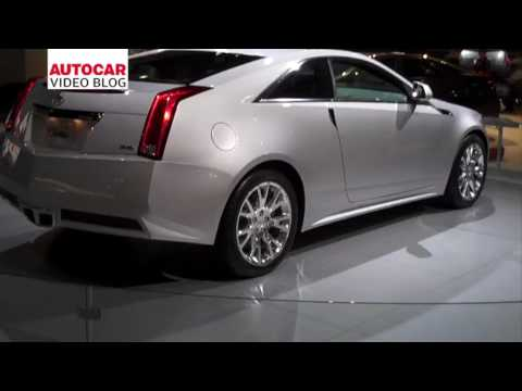 LA Motor Show: Cadillac CTS Coupe by autocar.co.uk