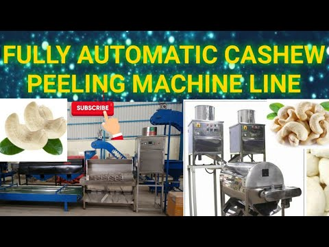 Kaju Peeling Machine