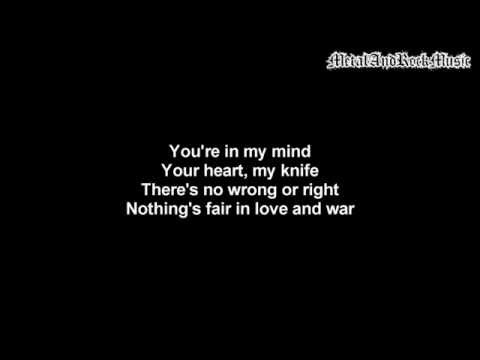 Three Days Grace - Nothing's Fair In Love And War | Lyrics on screen | HD