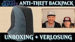 Unboxing Ultimate Guard Anti-Diebstahl Gaming Rucksack Ammonite Anti-Theft Backpack