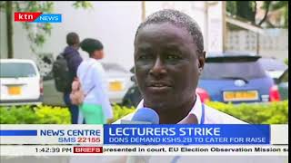 Lecturers' strike enters day two as the dons demand Ksh5.2B to cater for raise