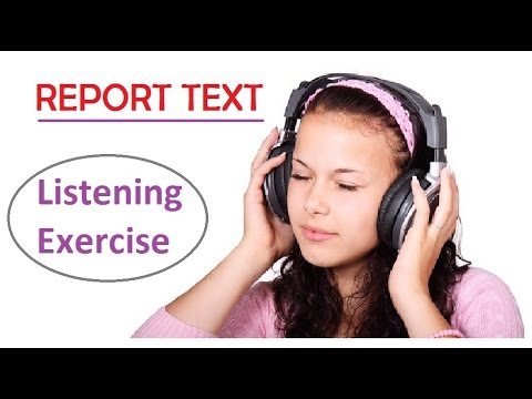 mp4 English Exercise Report Text, download English Exercise Report Text video klip English Exercise Report Text