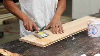 How to Cover Nail Holes in Wood Floors When Refinishing : Wood Floor Installation
