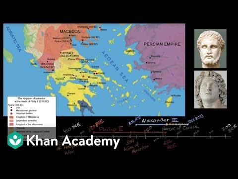 Philip of Macedon unifies Greece (video) | Khan Academy