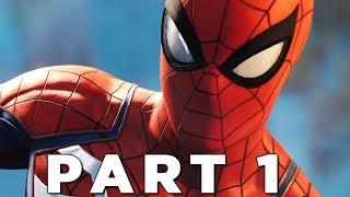SPIDER-MAN PS4 Walkthrough Gameplay Part 1 - INTRO (Marvel