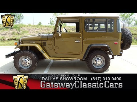 Video of '77 Land Cruiser FJ - LAOR
