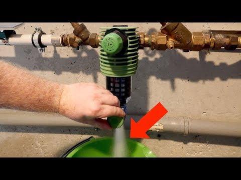 Wasserfilter am Hausanschluss reinigen // Grünbeck Rückspülfilter (mit Druckminderer) Boxer RD DN25