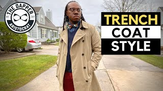 How To Style A Mens Trench Coat | Trench Coat Style Men