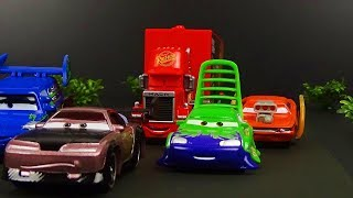 Cars 1 Mack And Tuner Cars Scene Remake! Stop Motion Animation Mack Falls Asleep