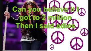 Goodbye Twitter Lyrics - Miley Cyrus