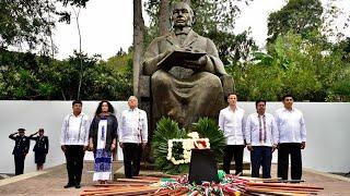 Aniversario 213 Del Natalicio De Benito Juárez, Desde Guelatao, Oaxaca