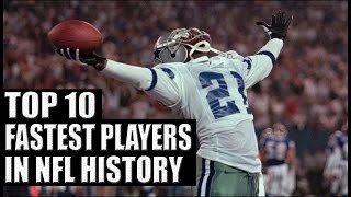Top 10 Fastest Players in NFL History