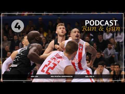 Ep4 Run&Gun Podcast - ABA Liga 1. & 2. , NBA Istočna Konferencija
