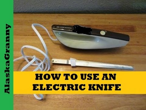 How to Use an Electric Knife