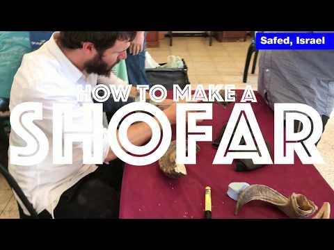 How to Make a Shofar