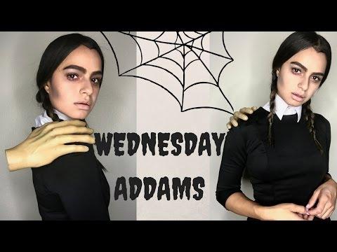 Last Minute Halloween Costume DIY | WEDNESDAY ADDAMS