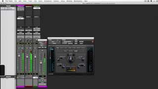 Using D-Verb Plugin in PRO TOOLS