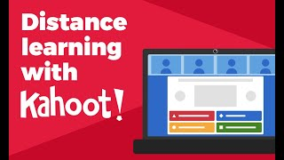 How to host a kahoot live over video with remote participants