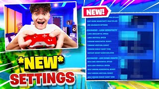 FaZe Jarvis *NEW* Controller Settings to Play like a PRO (Chapter 2)