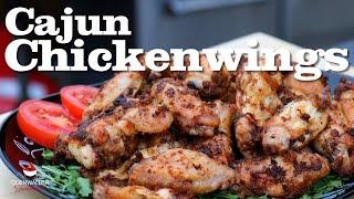 Cajun BBQ Chickenwings vom Grill